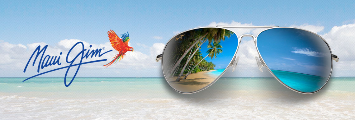 d15c035d027 Maui Jim are our main sunglasses supplier because we think their lens  technology is the best.